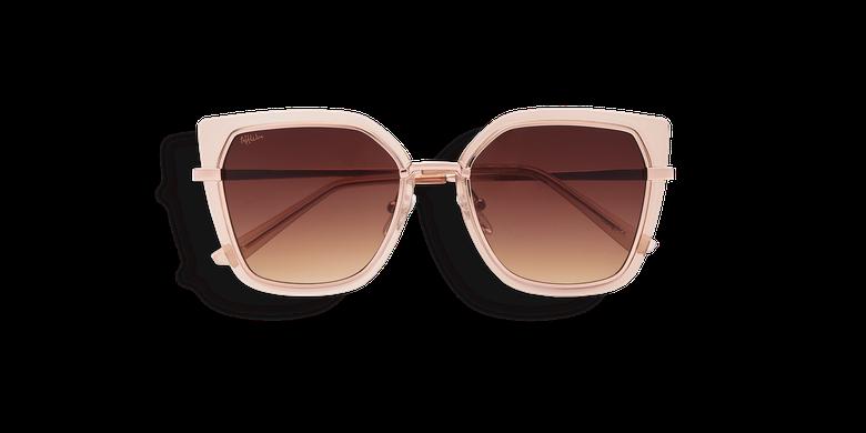 Óculos de sol senhora SUENO (Tchin-Tchin +1€) dourado/castanho