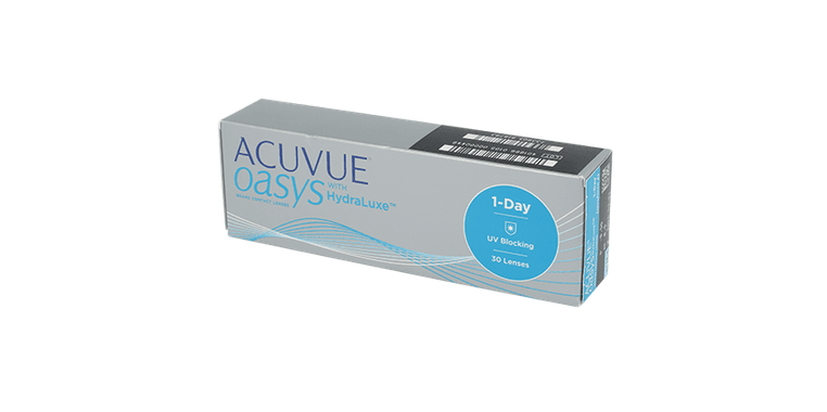 Lentilles de contact Acuvue Oasys 1 Day with Hydraluxe 30L