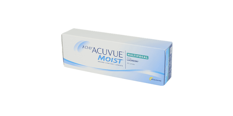 Lentilles de contact 1 Day Acuvue® Moist® Multifocal 30L