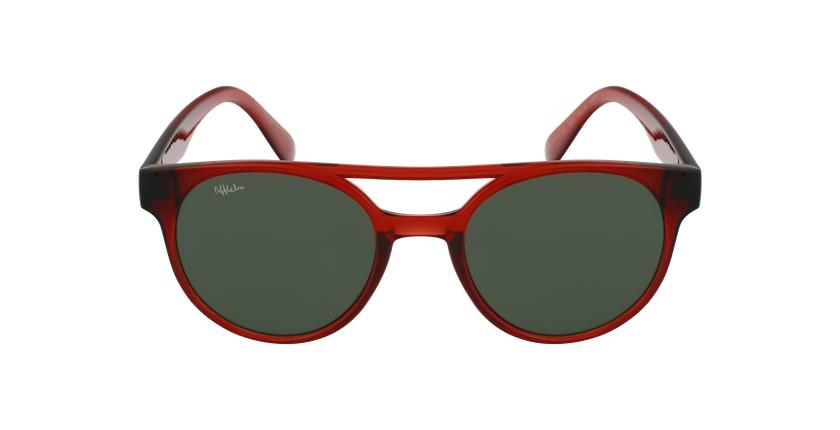 Óculos de sol criança MANACOR RD vermelho - Vista de frente