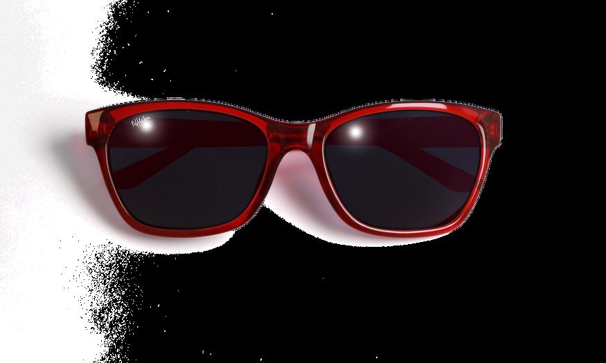 Lunettes de soleil femme FIONA rouge