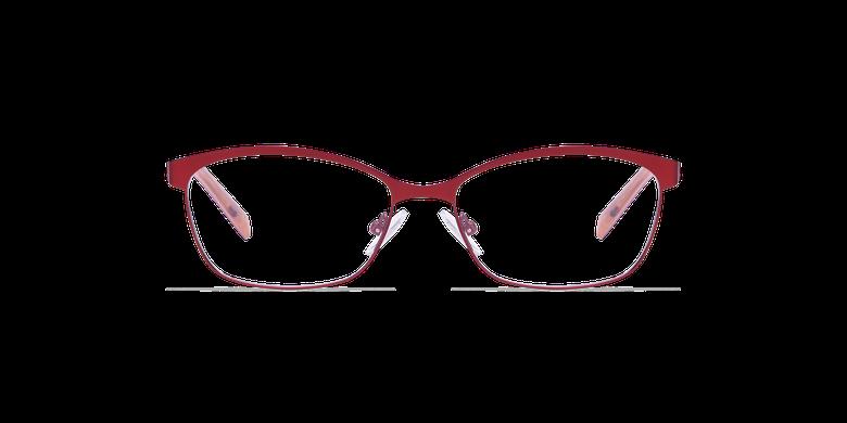 Lunettes de vue femme SHIRLEY rouge