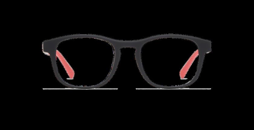 Gafas graduadas DUNK negro/rojo - vista de frente