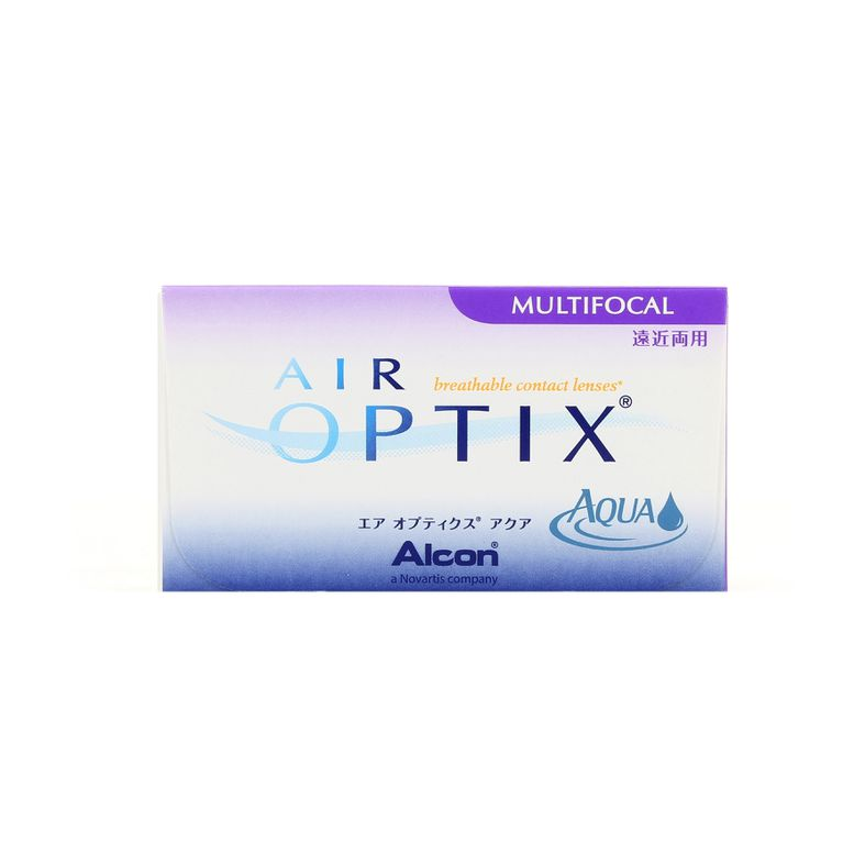 Lentilles de contact Air Optix Aqua Multifocal HIGH 3L
