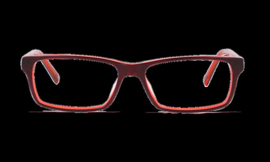 Lunettes de vue homme BASTIEN rouge