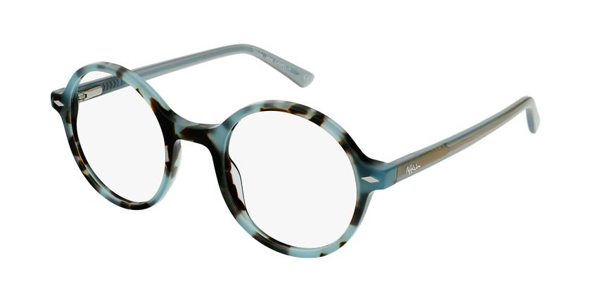 Óculos graduados CAMELIA TO02 (TCHIN-TCHIN +1€) tartaruga /azul - vue de 3/4