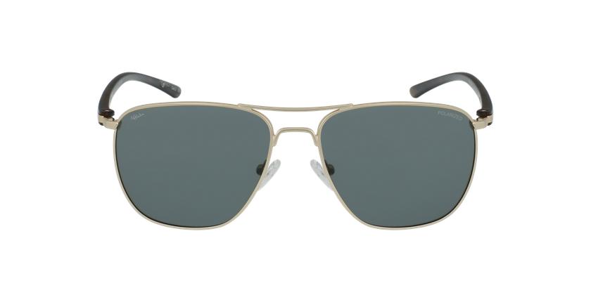 Óculos de sol homem ENEKO GD dourado/tartaruga  - Vista de frente