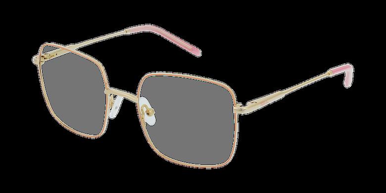 Óculos graduados criança STELLA PK (TCHIN-TCHIN +1€) rosa/dourado