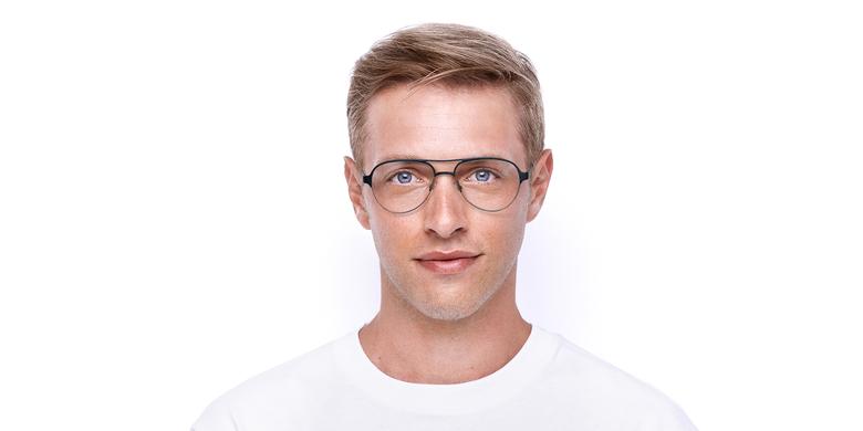 Óculos graduados NAEL BL (TCHIN-TCHIN +1€) azul/prateado