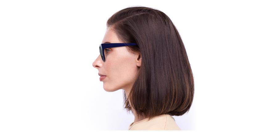 Óculos de sol senhora BRITANY BL azul - Vista lateral