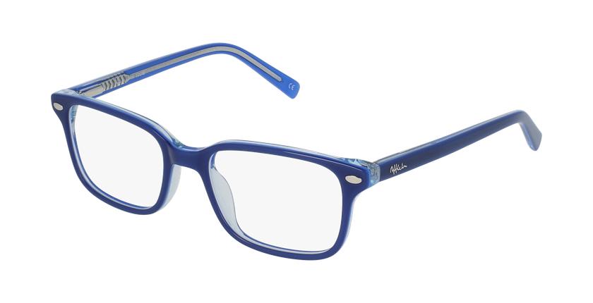 Óculos graduados criança Eddie bl (tchin-Tchin +1€) azul - vue de 3/4