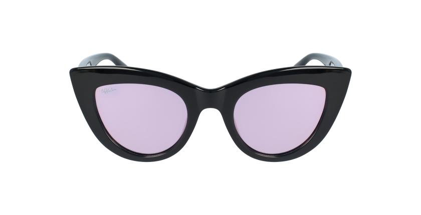 Óculos de sol criança MARILOU BK preto - Vista de frente