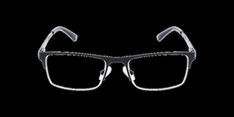 Lunettes de vue homme RONALD noirVue de face