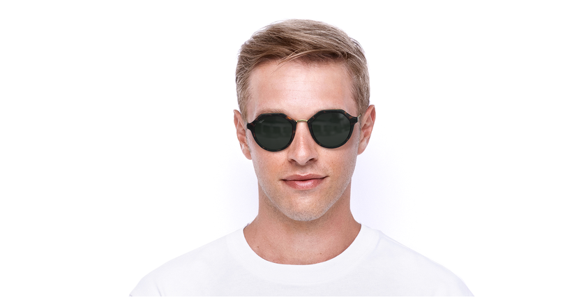 Óculos de sol SWANN TO tartaruga - Vista de frente
