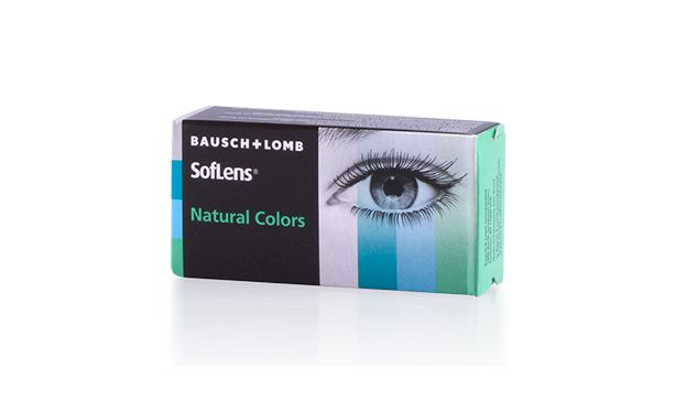 Lentilles de contact SOFLENS NATURAL COLORS - Vue de face