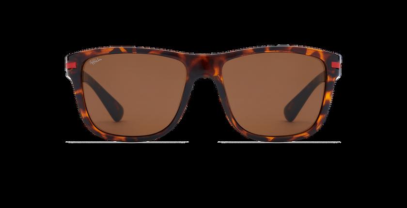 Óculos de sol homem DIEGO TO (TCHIN-TCHIN +1€) tartaruga  - Vista de frente