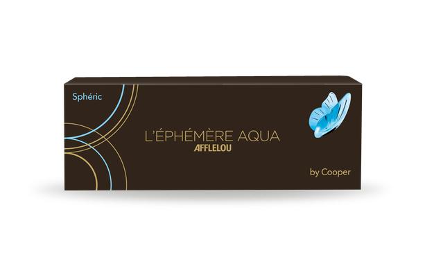 Lentilles de contact Ephémère Aqua Journalière Sphere 30L - Vue de face