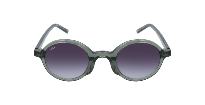 Óculos de sol JAMIE GR verde - Vista de frente