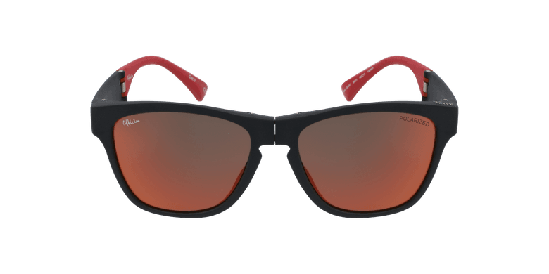 Óculos de sol homem GEANT BK preto/vermelho