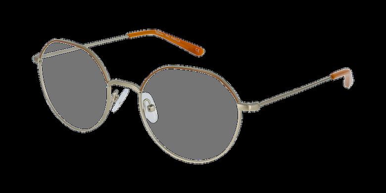 Lunettes de vue femme ANAELLE marron/doré