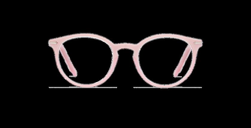 Gafas graduadas mujer OYONNAX rosa - vista de frente