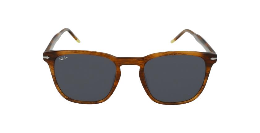 Óculos de sol homem HUNTER HV castanho - Vista de frente
