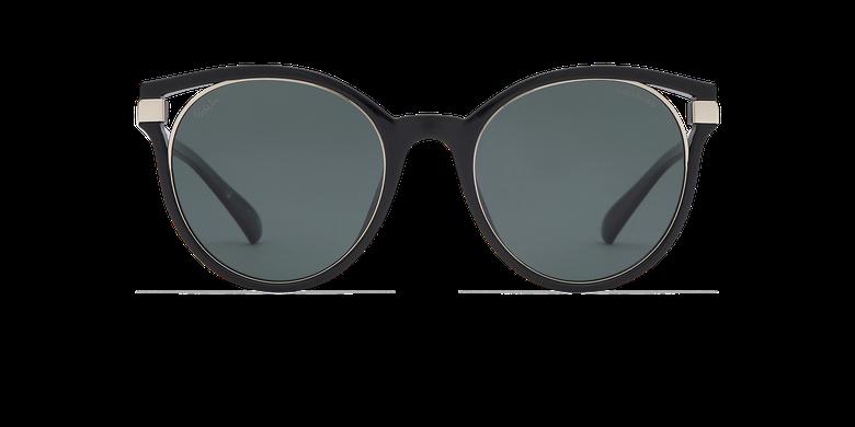 Lunettes de soleil femme IOVANA noir/argenté