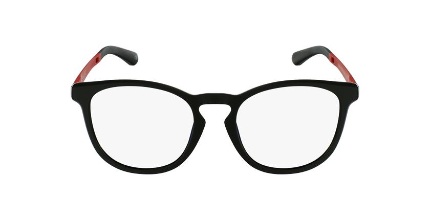 Óculos graduados homem MAGIC 63 BK preto/vermelho - Vista de frente