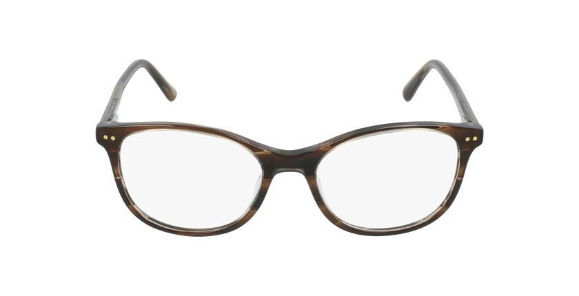 Óculos graduados criança PAULA BR (TCHIN-TCHIN +1€) castanho - Vista de frente