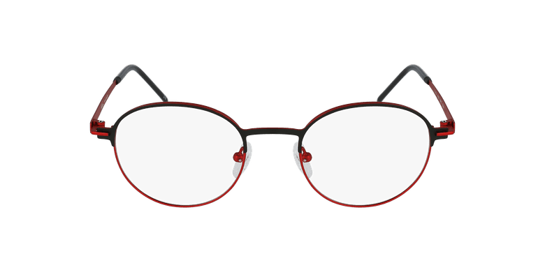Óculos graduados MARS BKRD preto/vermelho