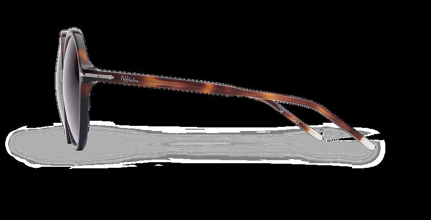 Lunettes de soleil femme KENDAL noir/écaille - Vue de côté