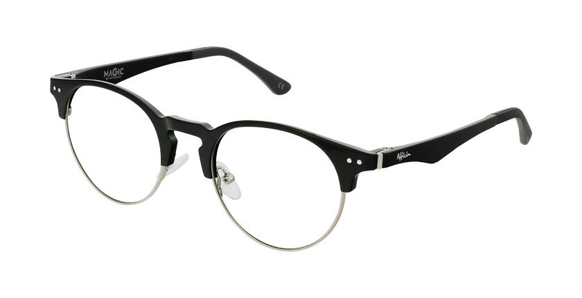 Óculos graduados MAGIC 93 BK ECO FRIENDLY preto/prateado - vue de 3/4