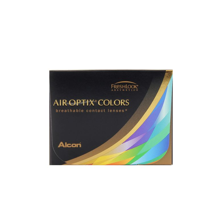Lentilles de contact Air Optix Colors Brilliant Blue 2L