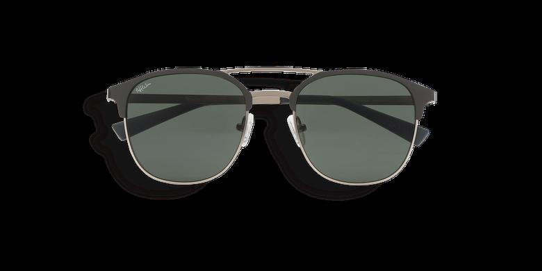 Óculos de sol homem URBANO (Tchin-Tchin +1€) verde/prateado