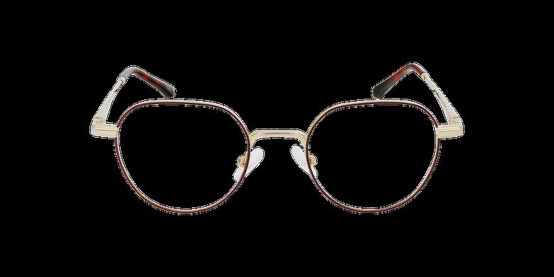 Óculos graduados MAGIC 95 BU vermelho/douradoVista de frente