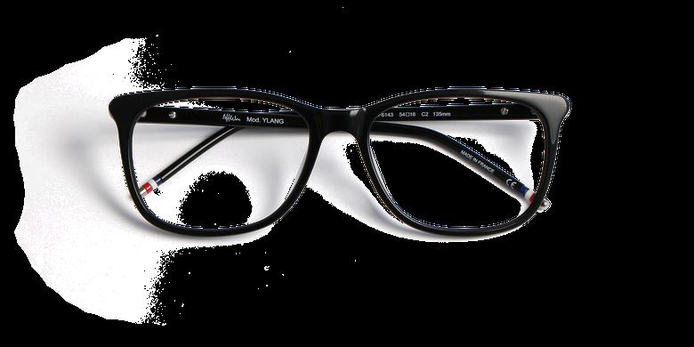 Óculos graduados senhora YLANG preto