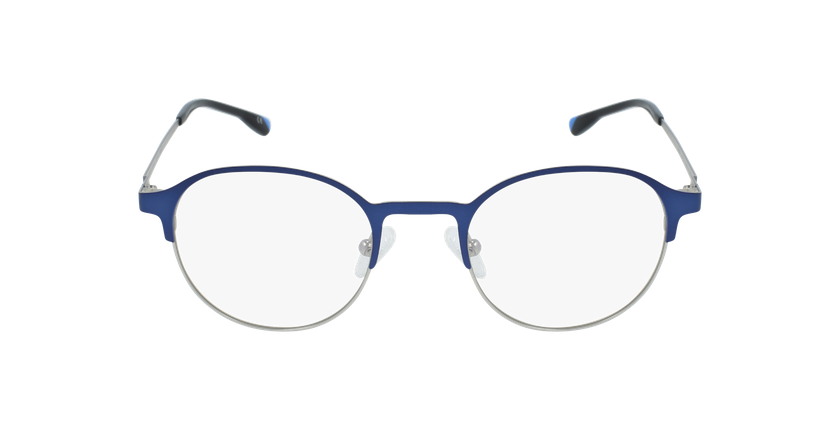 Óculos graduados homem MAGIC 53 BLUEBLOCK - BLOQUEIO LUZ AZUL azul/cinzento - Vista de frente