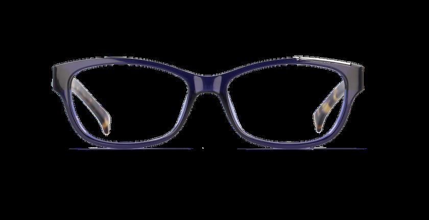 Lunettes de vue femme CALVIN KLEIN JEANS bleu - vue de face
