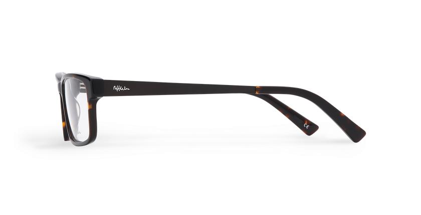 Óculos graduados homem KYLAN (Tchin-Tchin +1€) tartaruga /preto - Vista lateral