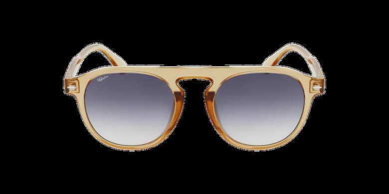 Óculos de sol BEACH BR douradoVista de frente