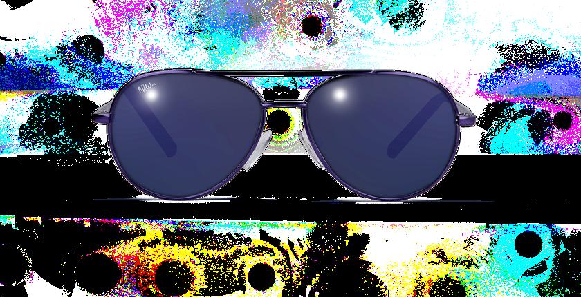 Gafas de sol niños PLAYA morado - vue de face