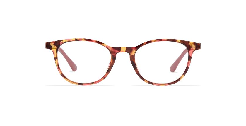 Óculos graduados senhora MAGIC 18 tartaruga /tartaruga rosa - Vista de frente