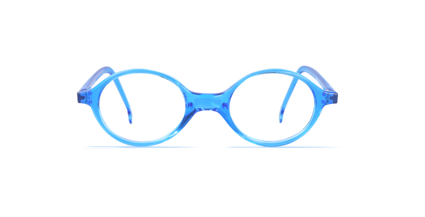 Lunettes de vue enfant MAEL bleu - vue de face