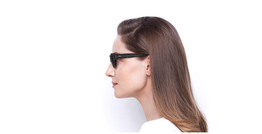 Óculos de sol senhora VANESSA BK preto - Vista lateral