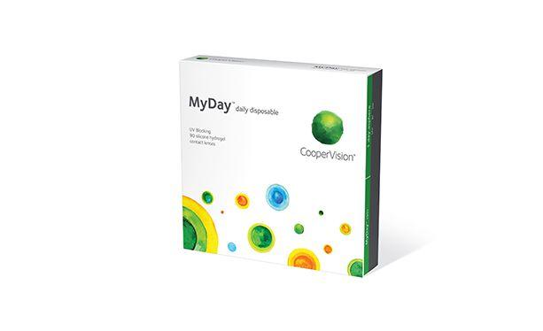 Lentilles de contact MyDay 90L - Vue de face