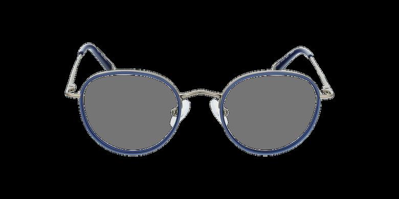 Lunettes de vue enfant NERD bleu/argentéVue de face