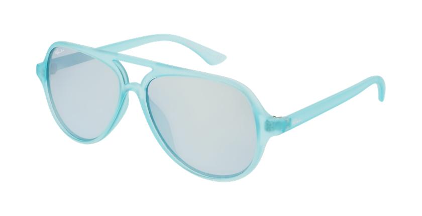 Óculos de sol criança RONDA GR verde - vue de 3/4
