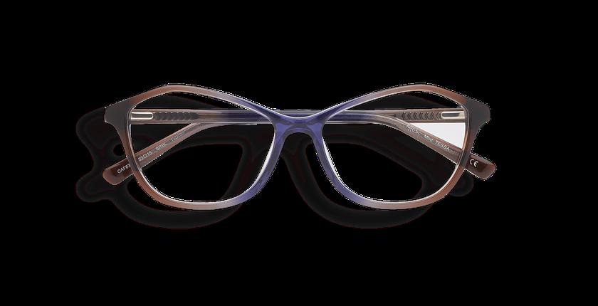 lunettes de vue tessa marron bleu afflelou. Black Bedroom Furniture Sets. Home Design Ideas