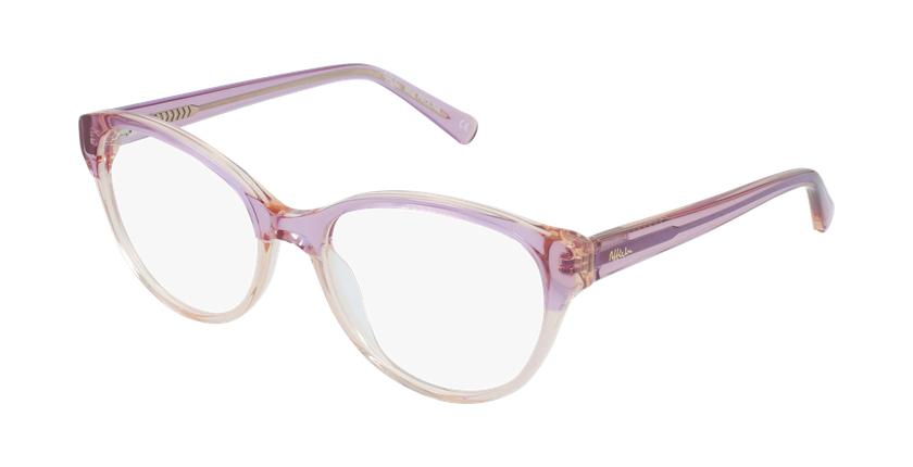 Lunettes de vue femme OAF20522 rose - vue de 3/4
