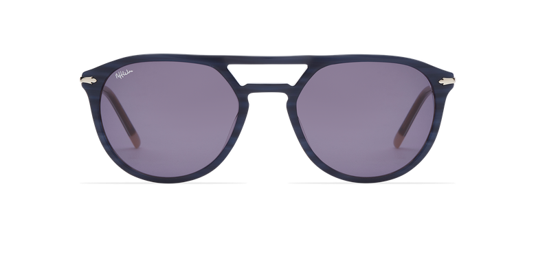 Óculos de sol homem MALTON BL azul/prateado